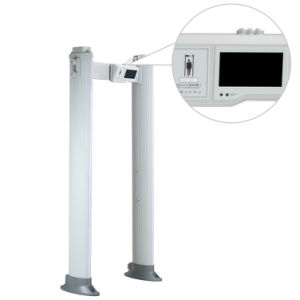 High-End Occasion Security 24 Zones Double Infrared Walkthrough Metal Detector pictures & photos