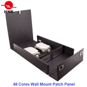 24/48 Cores Distribution Wall Mount Fiber Optic Patch Panel pictures & photos