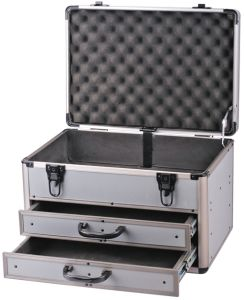 Customed Aluminum Tool Box with Drawers Stc511r pictures & photos