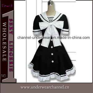 Wholesale Anime Fancy Dress Adult Carton Maid Cosplay Costume (TBLS143) pictures & photos