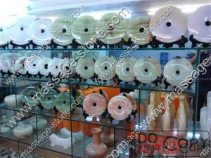 Wholesale Natural Jade Bi and Jade Disc for Home Decoration