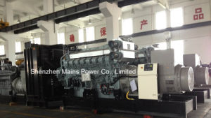 2100kVA 1680kw Standby Power Mitsubishi Industrial Diesel Generator pictures & photos