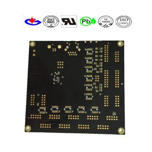 Black Soldermask PCB Circuit Board with Fr4 Material pictures & photos
