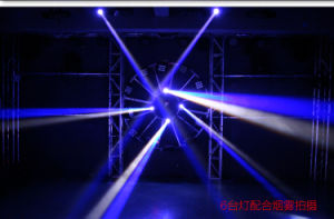 10W Mini LED RGBW 4 in 1 CREE LED Beam Moving Head Light pictures & photos