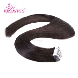 K. S Wigs New Arrival Remy Indian Human Hair Tape Hair Extension pictures & photos