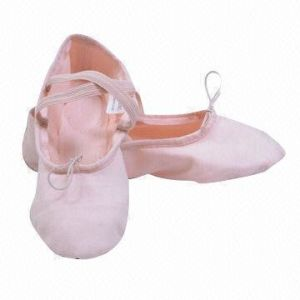 Canvas Ballet Dance Shoes for Kids and Adults pictures & photos
