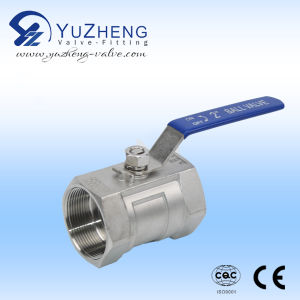Stainless Steel 3 Way Floating Ball Valve pictures & photos