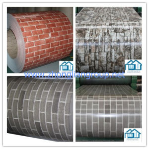 Prepainted Steel Coil with Brick Grain (ZL-PPGI) pictures & photos