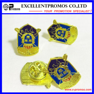 Customized Size and Logo Pin Tin Button Badge (EP-B7021) pictures & photos