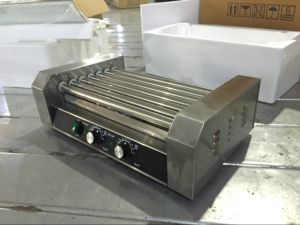 Rolling Hot Dog Grill of All Stainless Steel (GRT-5G) pictures & photos