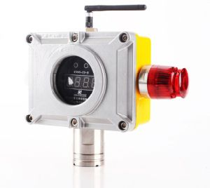 Acetylene Gas Detector 220V/24V Powered Wall Mounted 0-100%Lel Combustible Gas Monitor pictures & photos