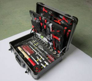 127 PC Aluminum Tool Set, Combination Tool Set with Aluminium Case pictures & photos