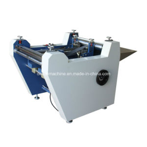 Semi-Automatic Case Maker/Double Sides Hardcover Folding Machine (YX-600) pictures & photos