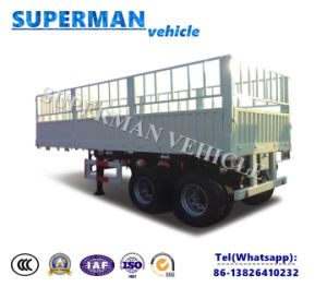 20FT-Axle Bulk Cargo Sidewall Open Stake Semi Trucktrailer pictures & photos