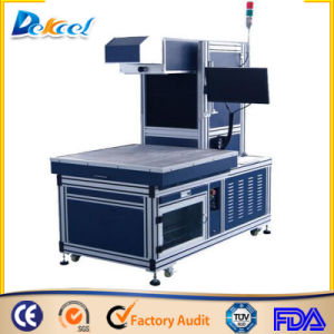 CNC 3D Dynamic Auto Focus Large Size Jean, Leather, Clother CO2 Laser Marking Machine 180W/275W pictures & photos
