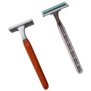 High Quality Twin Blade Disposable Razor (KD-52007L) pictures & photos