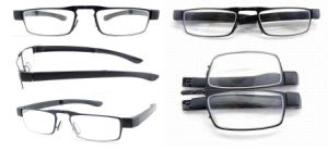 Foldable Metal Reading Glasses with Case Packing pictures & photos