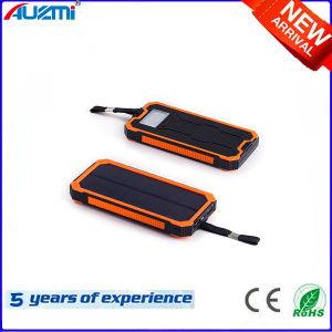 15000mAh Portable 2USB Solar Power Bank with LED Light