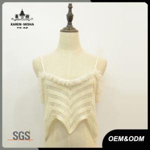 Women Street Fashion Slip Crochet Lace Sweater Vest pictures & photos