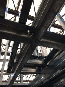 C Purlin / Z Purlin / H Beam for Steel Structure Warehouse/Villa Frame/Roof/Support pictures & photos