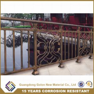 Aluminium Baluster Handrail with Flower for Garden pictures & photos