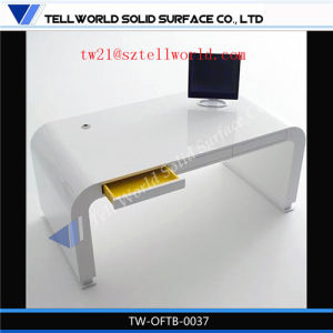 Ultra Tech Modern Factory Direct Cool Marble Office Table High End Home Modern Office Furniture pictures & photos