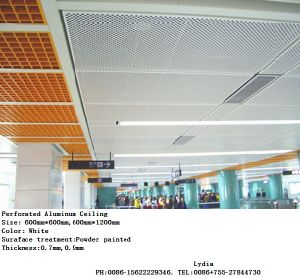 Square Series Aluminium Ceiling for Roof & Cladding Decorative