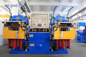 Heating Plate Rubber Silicone Molding Vulcanizing Machine for Bracelets pictures & photos