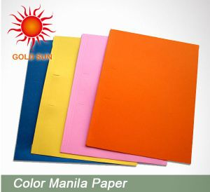 Drawing Colourful Manila Paper pictures & photos