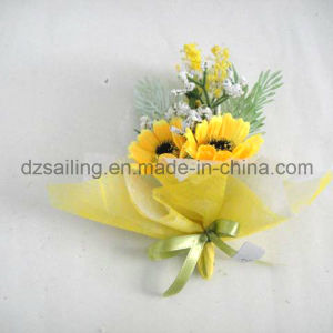 Daisy Pick Artificial Flower for Gift Packing and Corsage (SFH1252) pictures & photos
