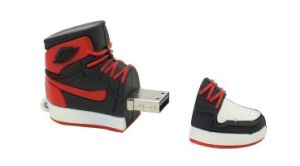 PVC Shoes Design USB Pendrive 4GB 8GB 16GB 32GB pictures & photos