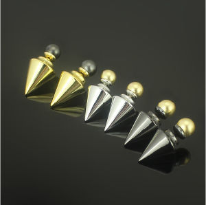 Stainless Steel Pearl Stud Earrings Fashion Jewelry Gold Stud Earrings (hdx1145) pictures & photos