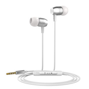 Sport Headset Wired in-Ear Earphone Metal Earphones with Volume Button pictures & photos