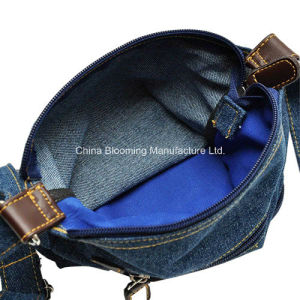Leisure Jeans Crossbody Messenger Shoulder Tote Sling Purse Satchel Bags pictures & photos