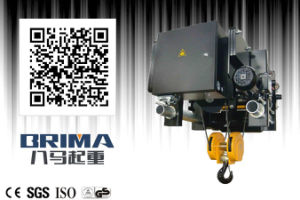 Brima 5 Ton Low Headroom Electric Wire Rope Hoist pictures & photos