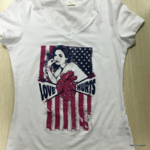 Light T Shirt Heat Transfer Paper Heat Press Paper for T Shirt Printing Machine pictures & photos