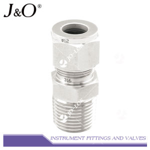Stainless Steel Forged Twin Ferrules Compression Connector Tube Fitting pictures & photos
