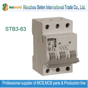Mini Circuit Breaker / 1p+N MCB (STB3-63) pictures & photos