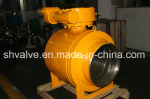 API/ANSI Gearbox Operated Full Weld Ball Valve