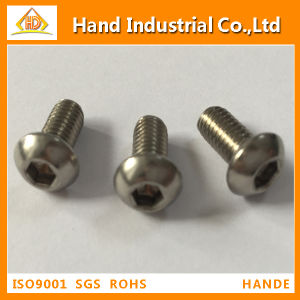 ISO7380 Stainless Steel Button Head Cap Screw pictures & photos