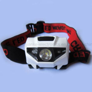 2016 Hot Seller Mini Plastic LED Headlamp with Logo Printing (4000) pictures & photos