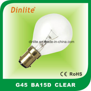 15W 25W 40W 60W Clear Incandescent Globe Bulb pictures & photos