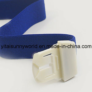 Plastic Buckle Base Tourniquet with Cotton Woven Strip (SW-GT01) pictures & photos