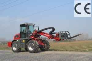 Haiqin Brand Strong Telescopic Boom Loader (HQ920T) with Pallet Fork pictures & photos