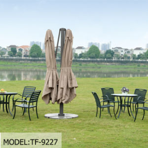Luxurious Outdoor Patio Sun Umbrella Metal Cantilever Garden Roman Umbrella pictures & photos