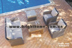 Rattan Wicker Sofa Set Garden Furniture Bm-588 pictures & photos
