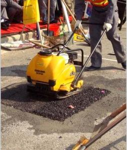 Hand Vibrating Plate Compactor pictures & photos