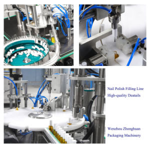 Hand Type Nail Polish Filling Plugging Capping Machine pictures & photos