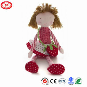 Strawberry Nice Girl Plush CE Stuffed Gift Cute Doll pictures & photos