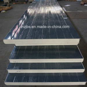 Cheap Colored PU Foam Board Sandwich Panel pictures & photos